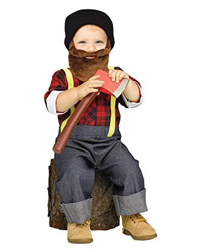 Horror-Shop Hipster Lumberjack Toddler Costume L