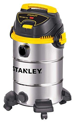 Stanley Wet/Dry Vacuum, 8 Gallon, 4.5 Horsepower, Stainless Steel Tank