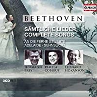 Beethoven: Complete Songs by Prey (2012-07-31)