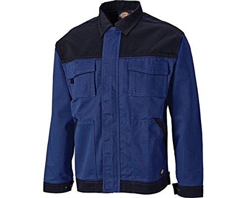 Dickies IN30010 Veste de Travail Homme, Bleu (Royal/Marine), 38/39
