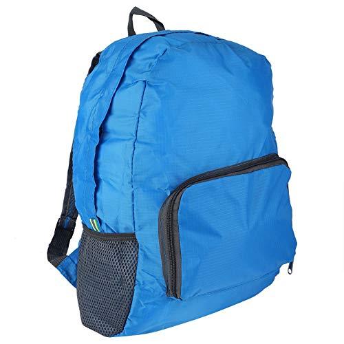 Mxzzand Bolsa de Deporte al Aire Libre Impermeable, portátil, Resistente y Duradera, Resistente al Desgaste para Hombres(Blue)