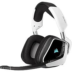 powerful Corsair VOID RGB Elite Wireless Premium 7.1 Surround Gaming Headset – Discord…