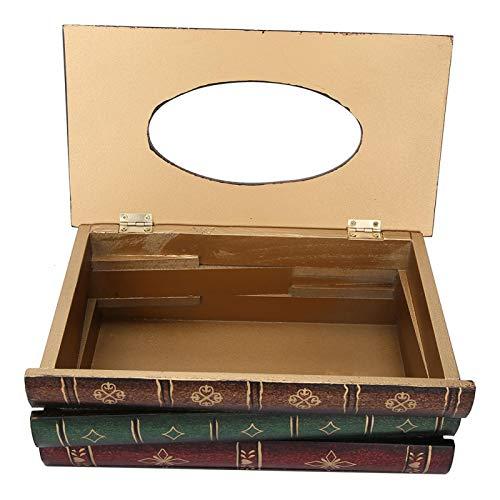 KUIDAMOS Servilletero, Caja Pintada A Mano De La Decoración del Hogar del Modelo Fuerte para El Coche para El Hogar