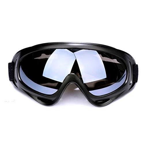 Ski Goggles Gafas de Esquí,2 Piezas Gafas de Nieve a Prueba de Viento,Anti-Niebla Gafas Esqui con Protección X400,Aislamiento a Prueba de Polvo Protección UV,Lentes Anti-Reflejo para Mujer Hombre