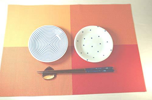 美濃焼和モダン取小皿8柄組