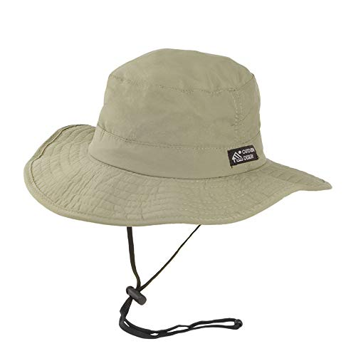 Village Hats Chapeau Bob Boonie à Bord Large Fossil Dorfman-Pacific - Medium