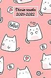 Diario scuola 2021-2022: Agenda scolastica giornaliera kawaii | 1 giorno per 1 pagina 2021-2022 | per ragazza e ragazzo, calendario Diario Elementari,Media, Superiori .