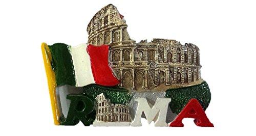 Magnete per frigorifero 3D Colosseo Romano Italia souvenir decorazione casa e cucina Roma Colosseo frigorifero magnete