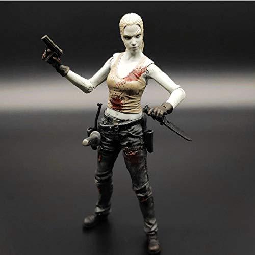 Modelo De Animepelícula Us Drama The Walking Dead Andrea PVC Modelo Toy Figura De Acción Colección Regalo 15Cm