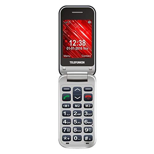 TELEFUNKEN - Teléfono Móvil Libre Telefunken TM 210 Azul