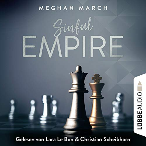 Sinful Empire audiobook cover art