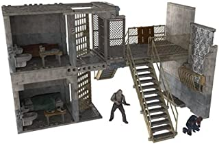 McFarlane Toys Construction Sets, The Walking Dead TV Prison Catwalk, Play Set (Discontinued by manufacturer)