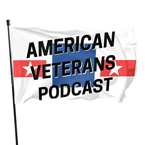 American Veterans Amvets Decorative Home Outdoor Flags 3 X 5 Ft Outdoor Flags Banner Breeze Flag