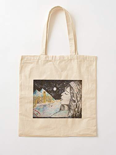 Générique Lebanon Beirut Donation Arab Watercolor - Bolsas de compra de tela con asas, de algodón duradero