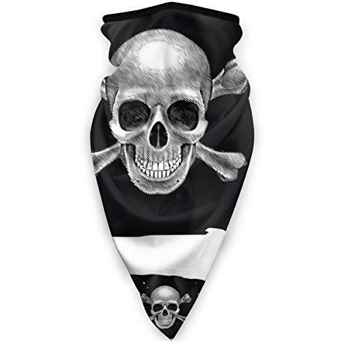 hgfyef Winddichter Schal Tre-Tipi-di-Bandiera-Schal für den Außenbereich, für Radsport, Schal für Motorradfahrer, winddicht, UV-Schutz