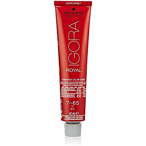 Schwarzkopf IGORA Royal Premium-Haarfarbe 7-65 mittelblond schoko gold, 1er Pack (1 x 60 ml)