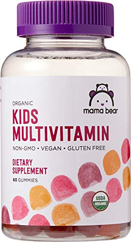 Amazon Brand - Mama Bear Organic Kids Multivitamin, 60...