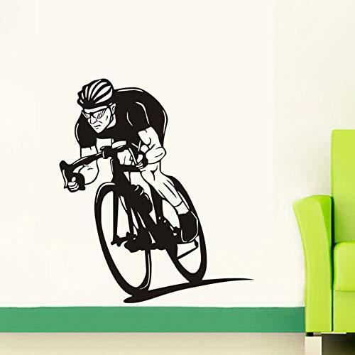Ajcwhml Sport wandaufkleber Gym Mountainbike reiten Dekoration abnehmbare Vinyl kinderzimmer Dekoration Aufkleber wandbilder