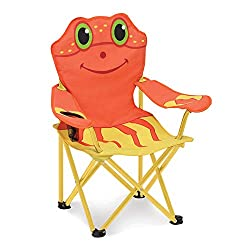 Melissa & Doug Sunny Patch Clicker Crab Chair