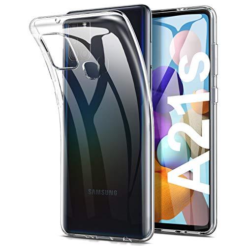 Yocktec Hülle für Samsung Galaxy A21s, Ultra-dünne Schutzhülle weiche TPU Gel-Abdeckung Handyhülle Silikon Hülle Cover [Kratzfest] [Stoßdämpfung] für Samsung Galaxy A21s Bildschirm