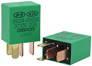 2 PACK 95224-2D000-DC12V 1NO 4PINS 20A for Automotive Relay Subminiature Medium-Power Relay Industrial Control Relay Car Relay