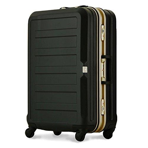[レジェンドウォーカー] スーツケース フレーム ハードスーツケース 4輪 消音/静音キャスター 5088-60 保証付 61L 66 cm 4.4kg ブラック