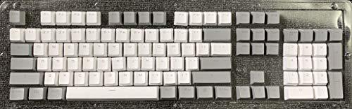 PuyongKeycaps 60 Prozent Mechanische Gaming-Keycaps PBT-Keycaps Geeignet für die meisten mechanischen Tastatur-Tastaturabzieher Innerhalb einfache und schöne Keycaps lässt Sie Sich wohler fühlen,Grau