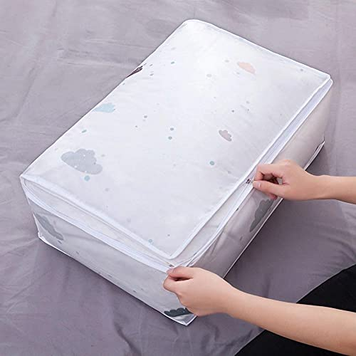 Ropa Edredón Bolsa de almacenamiento Manta Armario Suéter Organizador Caja Clasificar bolsas Contenedor Viaje Accesorios de almacenamiento en el hogar C4 55 * 36 * 20