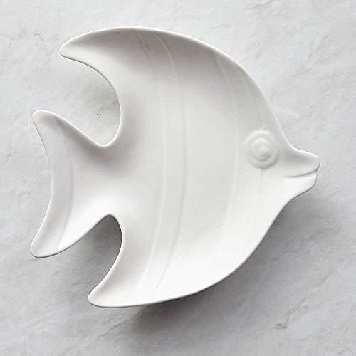 W-SHTAO L-WSWS Conjunto de vajillas Mate de Ins vajilla cerámica de la Placa Placa del Desayuno Occidental nórdica niños Vajilla 18X17.8X3.1Cm