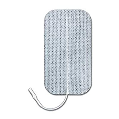 """ValuTrode Foam Electrodes, 3"""" x 5"""" Rectangle, 2 Pack, Electrode with Multiple Gel Layering for Maintaining Current Flow, Electrotherapy Tool with Patented MultiStick Adhesive"""