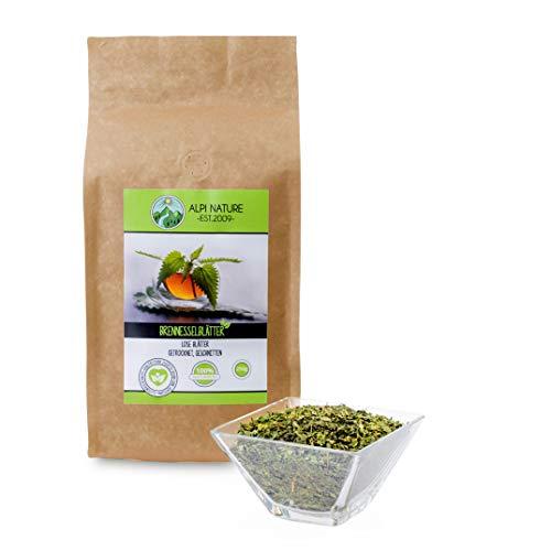 Thé d'ortie, feuilles d'ortie, thé d'ortie 100% naturel, tisane en vrac, coupé (250g)