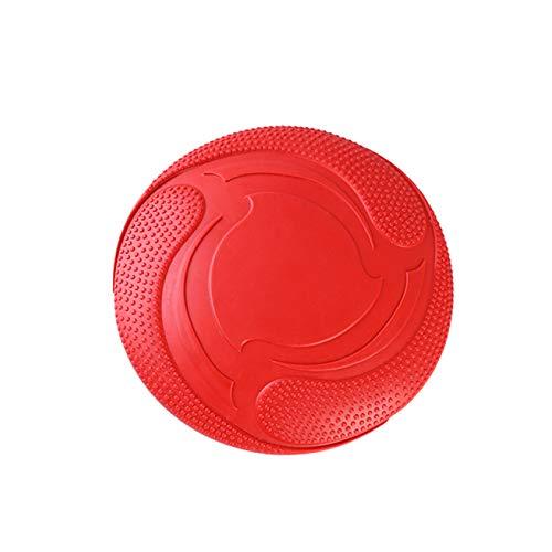 Frisbee hondenspeelgoed van natuurlijk rubber, bestand tegen bijten, drijvend