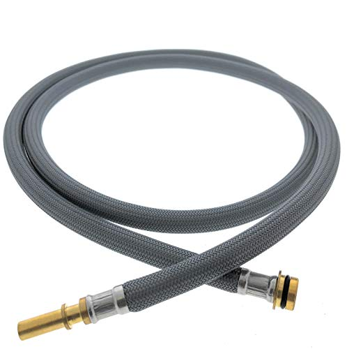 Pulldown Replacement Spray Hose Compatible with Hansgrohe Kitchen Faucets (# 88624000 Pull Down Hose Only) by Essential Values