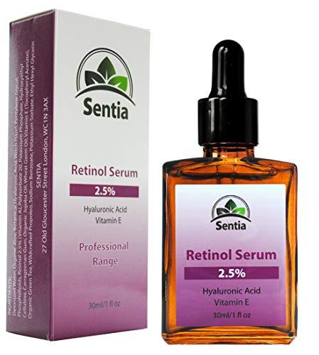 Retinol Face Serum cream + Vitamin E + Hyaluronic Acid. 30ml Anti Aging Ageing Wrinkle skin care. Reduces Wrinkles, creates Healthier skin.