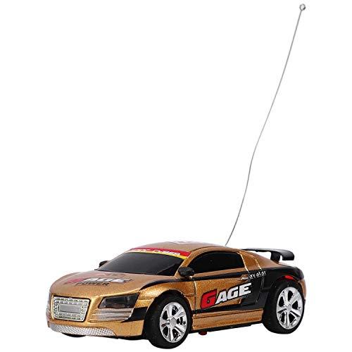 LIZONGFQ Coke Can RC Radio Control Remoto Micro Racing Car Regalo de cumpleaños ColorRandom