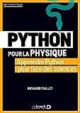 La Physique en Python