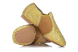Double Platinum Girls Glitter Jazz Shoes DAZZLEC