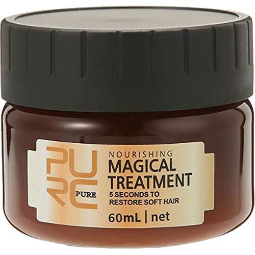 PURC Pure Magical Treatment Mask 5 Secondi per ripristinare i capelli morbidi