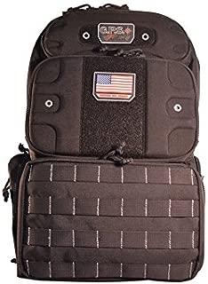 GPS Tactical Range Backpack Tall-Holds 4 Handguns