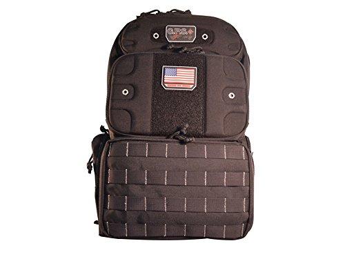 G.P.S Tactical Range Backpack, Tall, Black