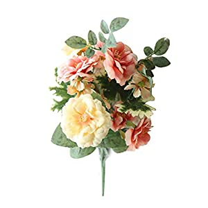 Silk Flower Arrangements Artificial and Dried Flower 1Pc Simulation Bouquet Home Room Simulation Bedding Bunch Pansy Flower Party/Wedding Decor