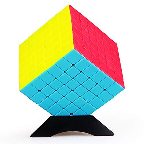 TOYESS Zauberwürfel 6x6 Stickerless, Speed Cube 6x6x6 3D Puzzle Würfel Spielzeug für Kinder
