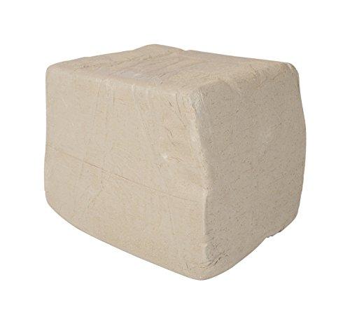 Amaco 351458 Low Fire Moist Sculpture Raku Clay, White, 27