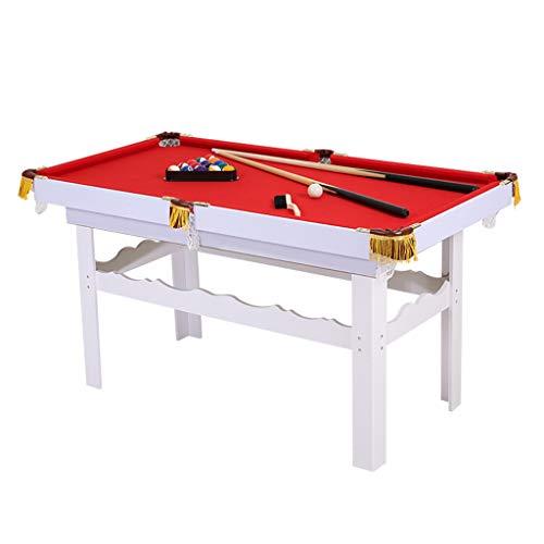 TY-Pool Table MMM@ Billardtisch Kinderheim Amerikanisches Billard 1,2 m Billardtisch mit Holzkugel Schwerpunkt Genaue Zähigkeit Starke Nylonnetztasche Langlebig