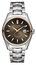 Roamer Herren-Armbanduhr Searock Analog Automatik Edelstahl beschichtet 210633 SRGM3