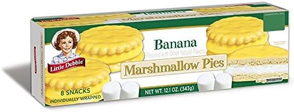 Little Debbie Banana Marshmallow Pies 12.1 oz Box - Single Pack