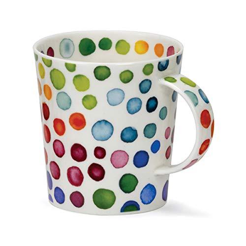 Dunoon Taza de porcelana con diseño de puntos calientes en forma de Lomond