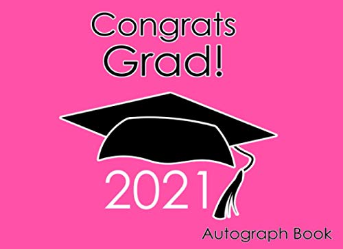 Compare Textbook Prices for Autograph Book for Graduation 2021: Gift for School or Party Pink  ISBN 9798733721187 by Headquarters, Amazing