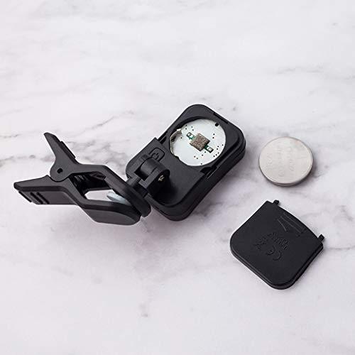 Floridivy Draagbare elektrische Digital Clip-on Tuner LCD-scherm Clip tuner voor gitaar bas viool Ukelele