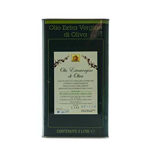 Cantina dei Colli Sabini - Olio Extra Vergine di Oliva 3L 100% Italiano